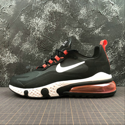 Cheap Wholesale NIKE REACT AIR MAX AQ9087-016 Black Red Noir L.Rouse