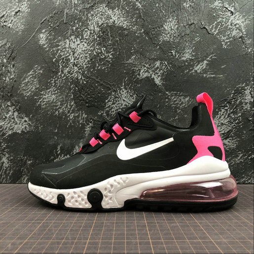 Cheap Wholesale NIKE REACT AIR MAX AQ9087-017 Black Peach Noir Peach