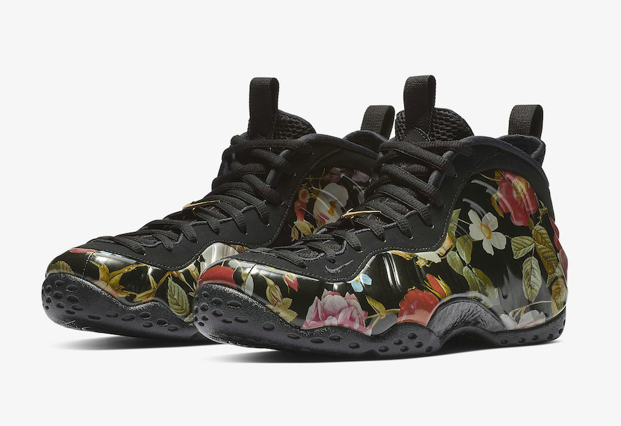 Wholesale Cheap Nike Air Foamposite One Floral Releasing On Valentines Day