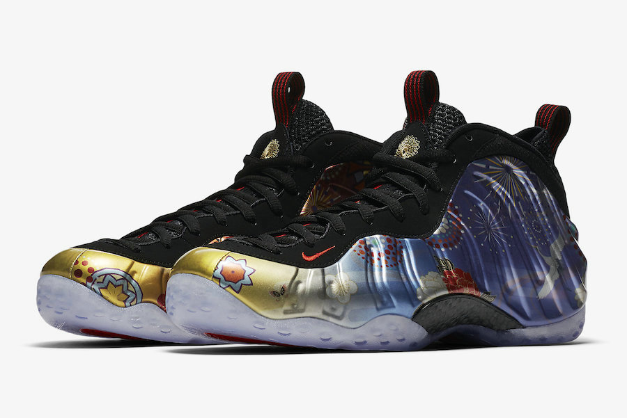 Wholesale Cheap Nike Air Foamposite One Lunar New Year