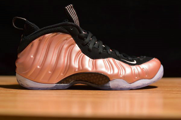 Cheap Wholesale Nike Air Foamposite One Rose Gold Elemental Rose Black 314996-602