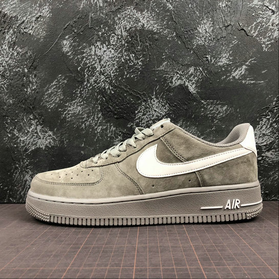Wholesale Cheap Nike Air Force 1 07 Mens AA1118-006 Grey Pig Eight Gris Cochon