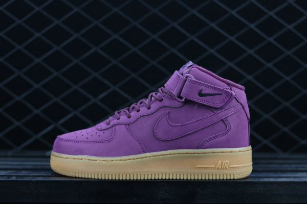 outlet store e9699 ecbae Cheap Wholesale Nike Air Force 1 High GS Bordeaux Gum For Sale