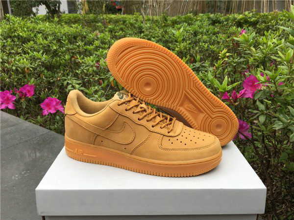 new concept 121cf c823c Cheap Wholesale Nike Air Force 1 Low Wheat For Sale