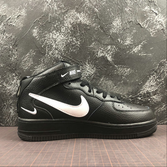 new arrival 3b380 93428 Wholesale Cheap Nike Air Force 1 MID 07 LV8 Mens 804609-001 Black Tour  Yellow
