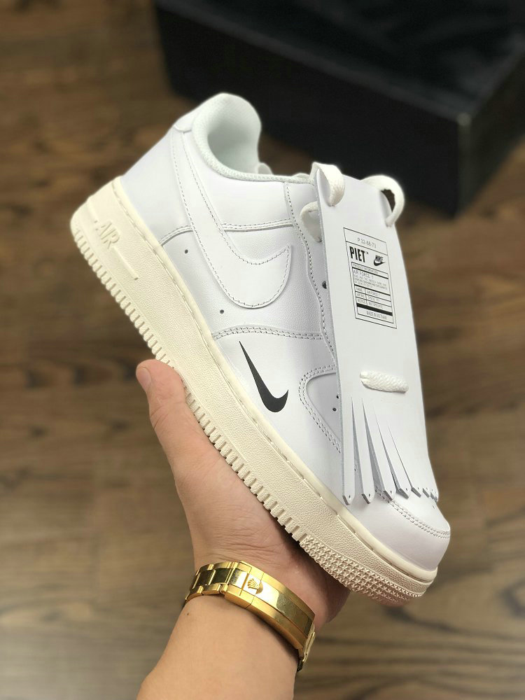 new product 6176d 57a78 Wholesale Nike Air Force 1 PIET 315122-111 White Black