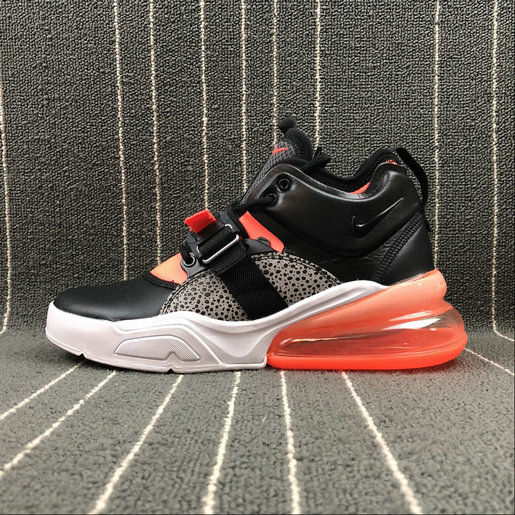 Wholesale Nike Air Force 270 AH6772-004 Black Leopard print Orange