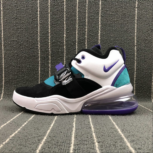 Wholesale Nike Air Force 270 AH6772-005 Black White Purpel Blue Women Shoes