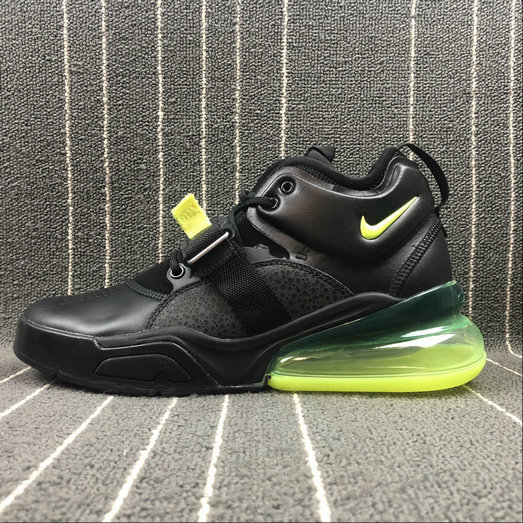 Wholesale Nike Air Force 270 AH6772-006 Black Green
