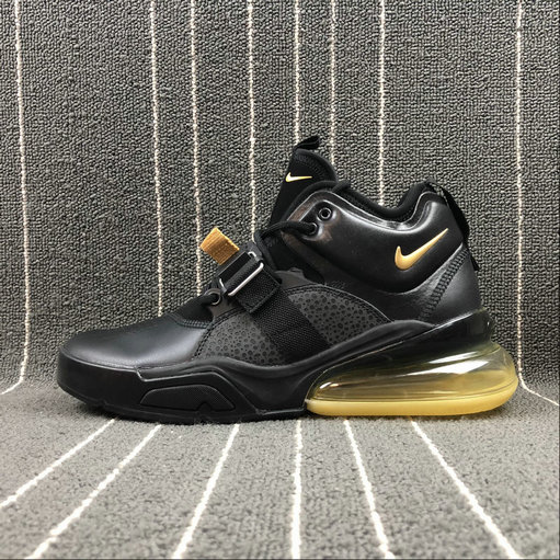 Wholesale Nike Air Force 270 AH6772-007 Black Yellow
