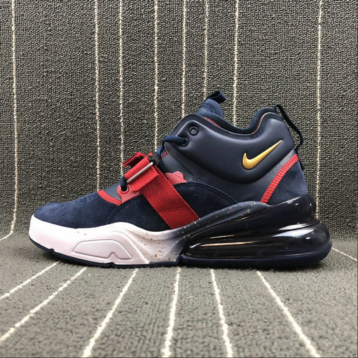 Wholesale Nike Air Force 270 AH6772-040 Dark Blue Red White