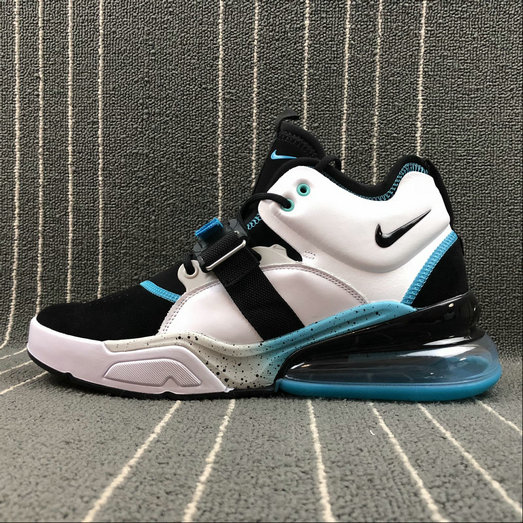 Wholesale Nike Air Force 270 AJ8208-100 Black White Blue