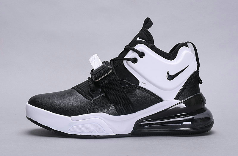 Wholesale Nike Air Force 270 Black White