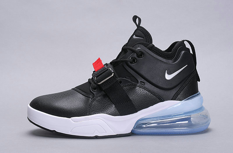 Wholesale Nike Air Force 270 Black White Blue
