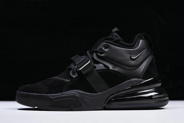 Cheap Wholesale Nike Air Force 270 Triple Black AH6772-003 Free Shipping