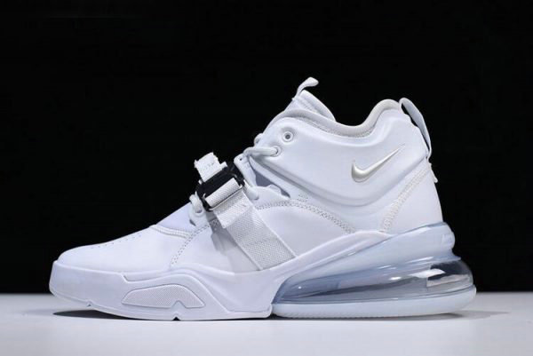 Cheap Wholesale Nike Air Force 270 White Pure Platinum Mens Size AH6772-010