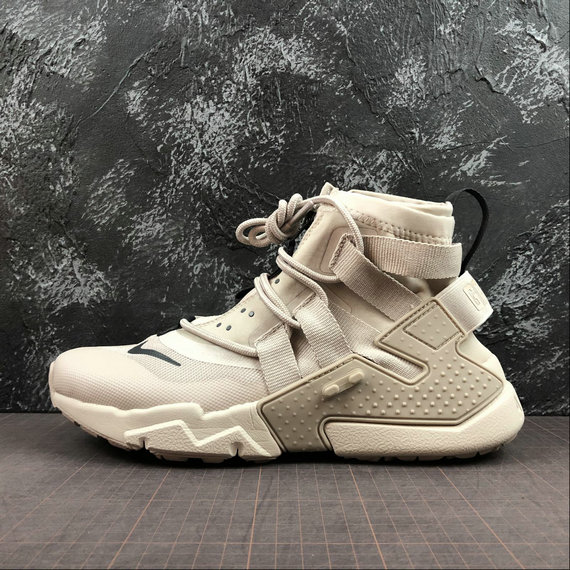 Wholesale Cheap Nike Air Huarache Gripp QS AQ2802-002 Desert Sand String Sable DU Desert Ficelle