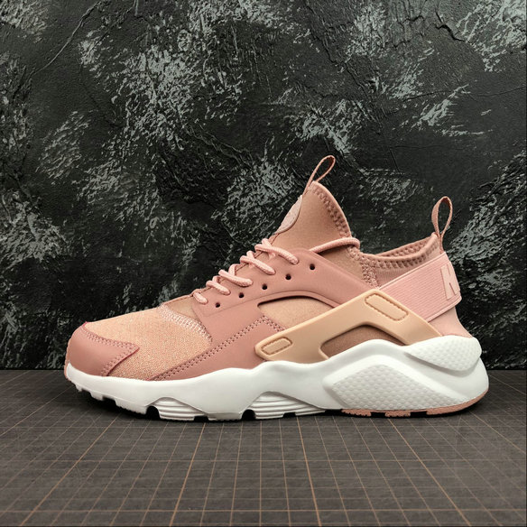 Wholesale Cheap Nike Air Huarache RUN ULTRA Womens 942122-600 Rust Pink Strom Pink White Rose Rouille Blanc Rose Orage