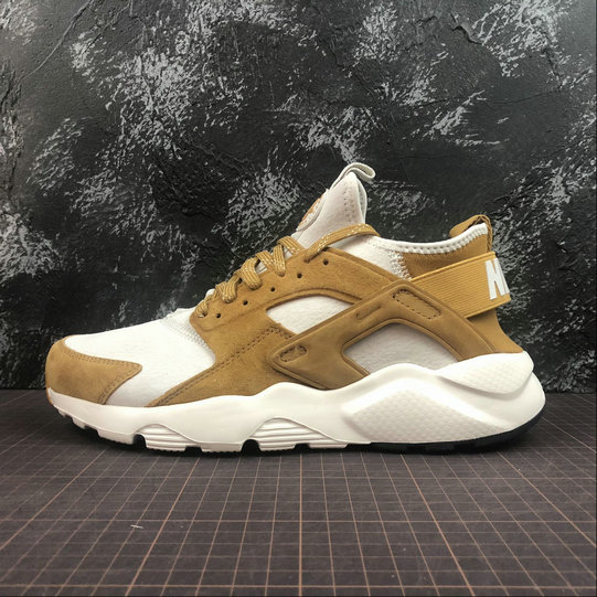 60ae2cad02d5e Cheap Wholesale Nike Air Huarache Run ULTRA 829669-017 Off White Wheat  Color Blanc Casse
