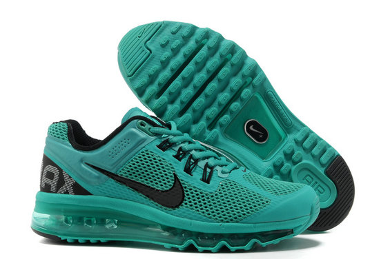 Nike Air Max 2013 Womens Running Shoe Atomic Turquoise Black