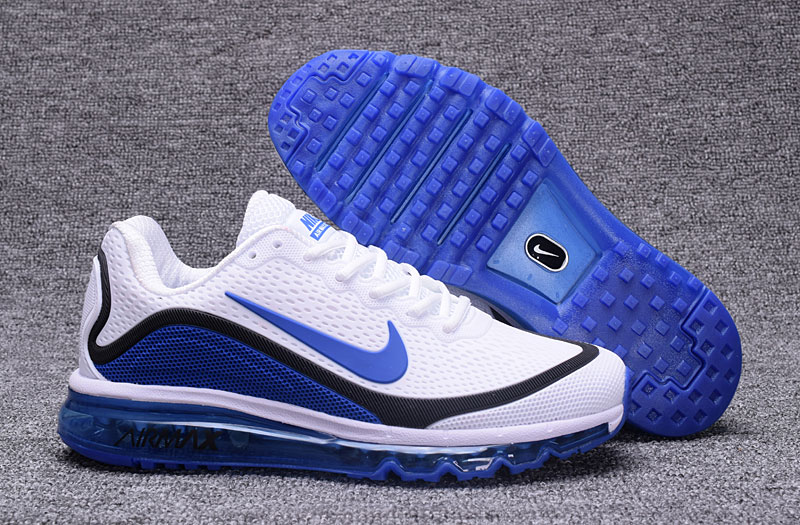 Nike Air Max 2017 Blue Black White 898013-111 Cheap Wholesale Air Max