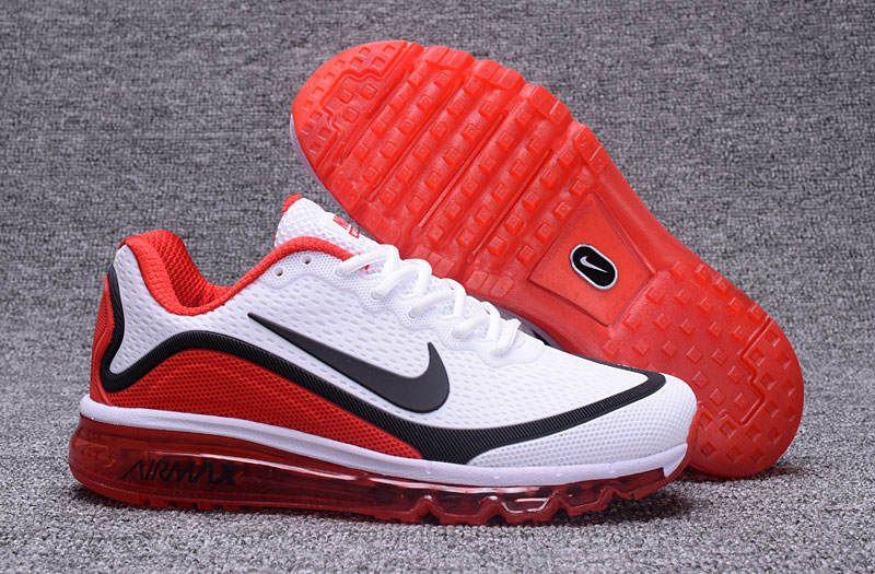 Nike Air Max 2017 Fire Red White Black 898013-113 Cheap Wholesale Air Max