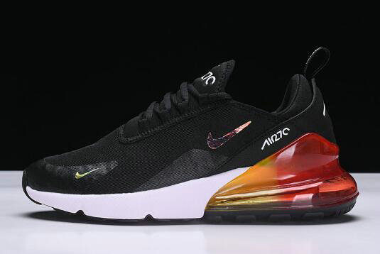 bd0050650e Cheap Wholesale Nike Air Max 270 Black White-Red Mens and Womens Size  AH6789-