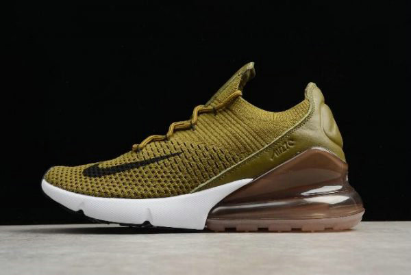 huge discount 15aed 425c4 Cheap Wholesale Nike Air Max 270 Flyknit Olive Flak Army Green Black-Coffee  White AO1023-300