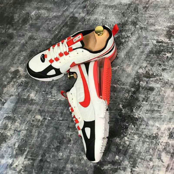 Wholesale Cheap Nike Air Max 270 V2 Womens Flyknit Red White Black