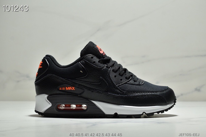 Wholesale Nike Air Max 90 Black-Habanero Red-Black CD1526-001