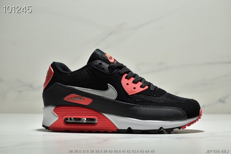 Wholesale Nike Air Max 90 Black Infrared AJ1285-012