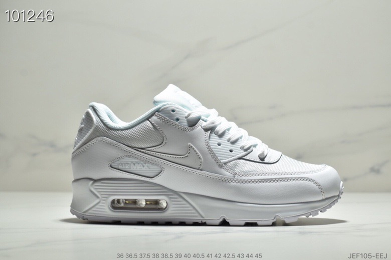 Wholesale Nike Air Max 90 Essential White-White 537384-111