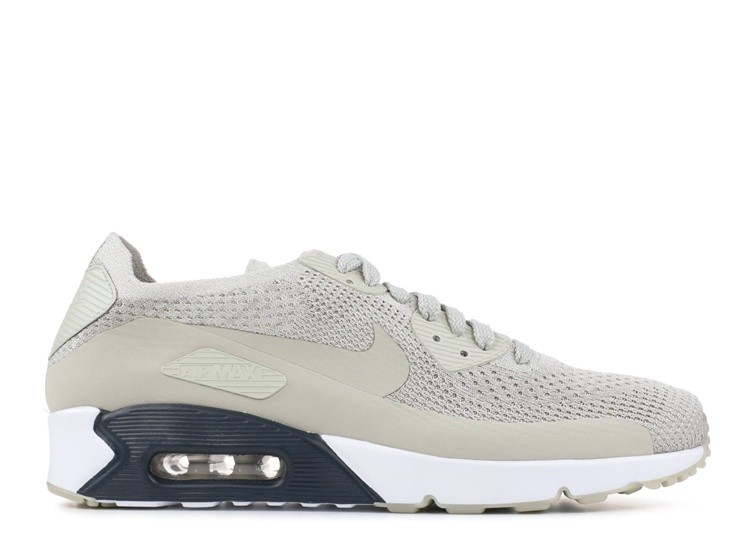Cheap Wholesale Nike Air Max 90 Ultra 2.0 Flyknit 875943-006 Pale Grey Armoury Navy Glacier Ice Pale Grey
