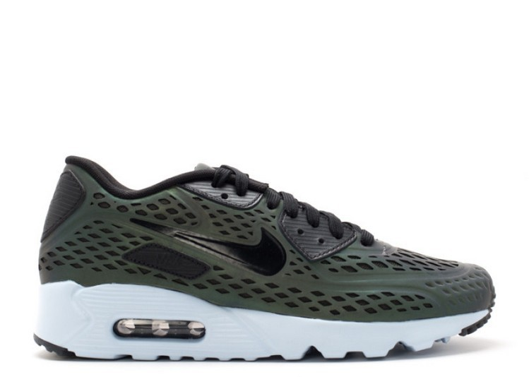 Cheap Wholesale Nike Air Max 90 Ultra Moire Qs Iridescent Pack 777427-200 Deep Pewter Black-Porpoise