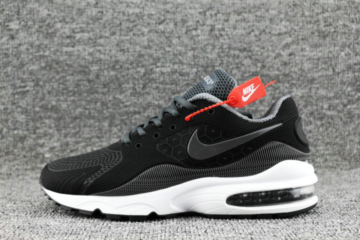Wholesale Nike Air Max 93 OG Dark Grey White Black