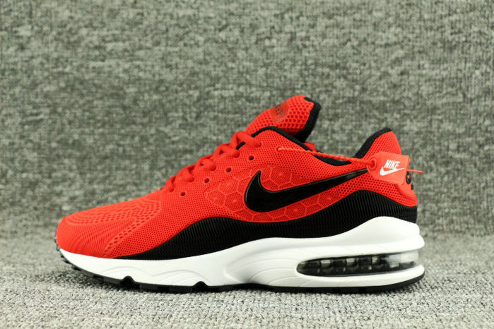 Wholesale Nike Air Max 93 OG Fire Red Black White