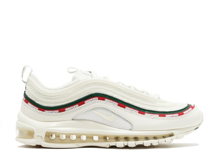 quality design 13cca db20c Cheap Wholesale Nike Air Max 97 Og Undftd Undefeated Aj1986-100 Sail White  Gorge Green