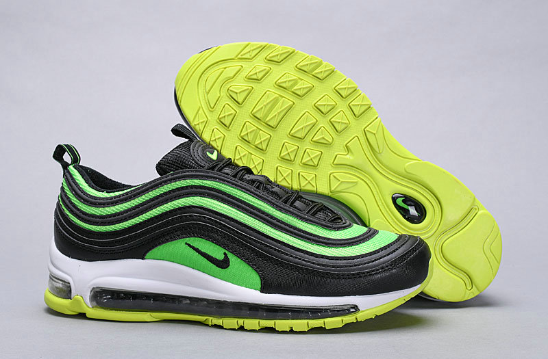 low priced 57ca1 a5880 Wholesale Cheap Nike Air Max 97 Releasing Soon In Black And Neon Green