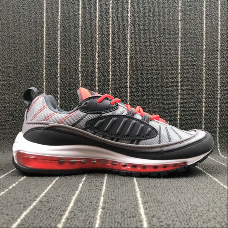 Wholesale Nike Air Max 98 640744-006 WOLF GREY DARK GREY GRIS LOUP GRIS FONCE