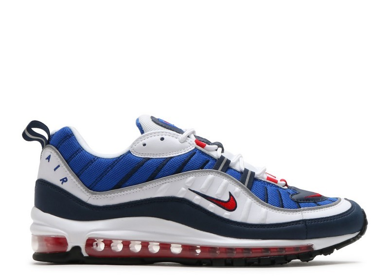 948e8dcb12 Cheap Wholesale Nike Air Max 98 Gundam 640744-100 White University Red  Obsidian
