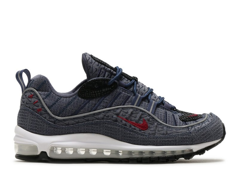 Cheap Wholesale Nike Air Max 98 Qs Thunder Blue 924462-400