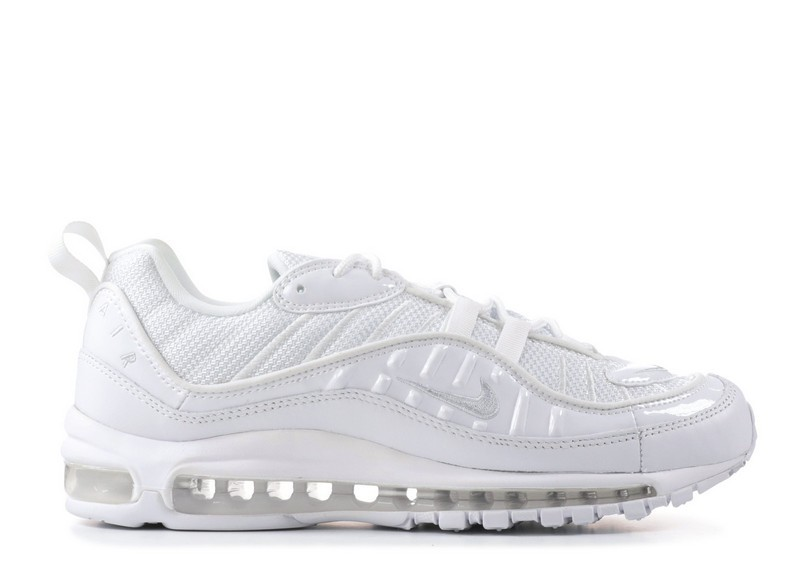 Cheap Wholesale Nike Air Max 98 Triple White 640744-1061