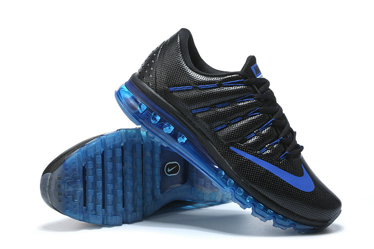 Nike Air Max Cheap Wholesale Nike Air Max 2016 Leather Blue Black