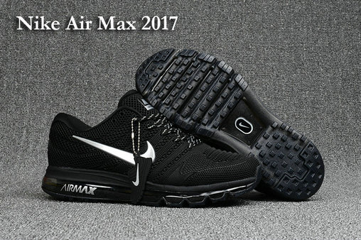 Nike Air Max Cheap Wholesale Nike Air Max 2017 Running Black White