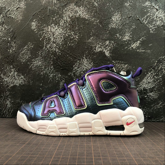 Wholesale Cheap Nike Air More Uptempo Womens 922845-500 Court Purple Rush Pink Violet Court Rose Intense