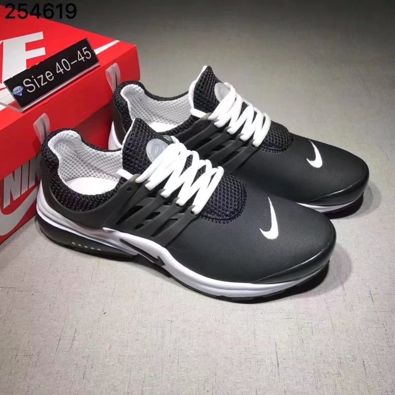 Nike Air Presto Cheap Wholesale Air Presto Leather White Black