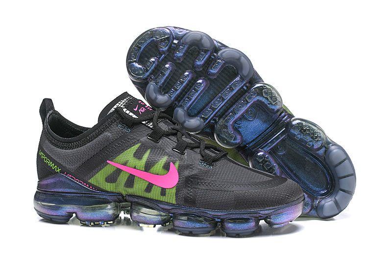 Wholesale Cheap Nike Air VaporMax 2019 PRM in Active Fuchsia and Lime Blast