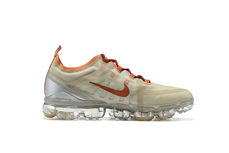 Wholesale Nike Air VaporMax 2019 Premium Pure Platinum Metallic Gold-Gym Red BQ7038-001