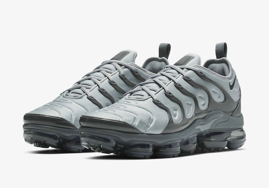 876d79ebe8c58 Wholesale Cheap Nike Air VaporMax Plus Wolf Grey Black-Dark Grey 924453-016