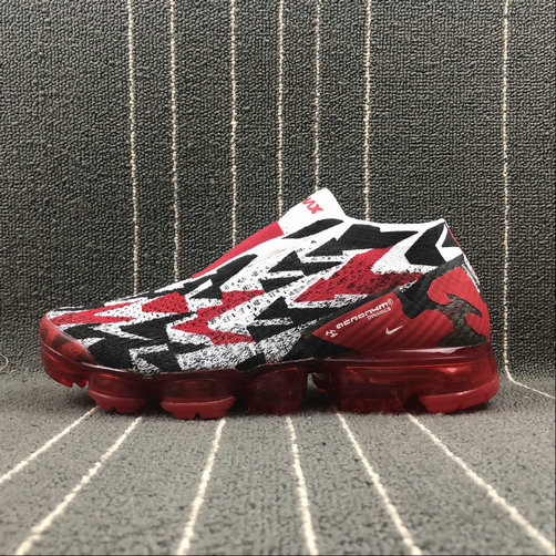 Wholesale Nike Air Vapormax FK Moc 2 Acronym AQ0996-800 LIGHT ASHES RED PEU DE CENDRES ROGE